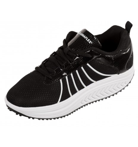 Basket Balancing Shoes - semelle Marche Active - Noir